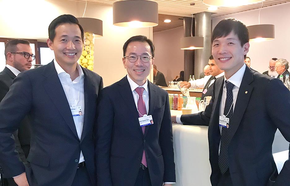 싱가포르 경제개발청 회장 미팅