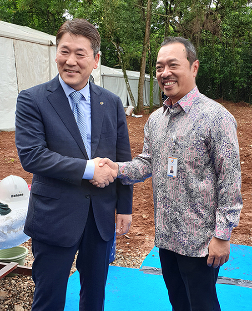 ㈜한화 인도네시아 원관 생산 플랜트 수출 관련 인사