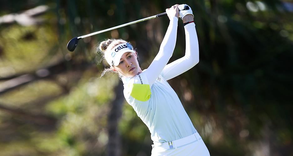 미국여자프로골프(LPGA)에서 활약 중인 한화큐셀골프단 소속 넬리 코다(Nelly Korda) 선수
