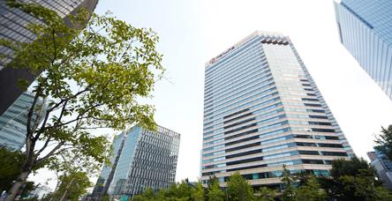 한화그룹 장교동 본사 외관