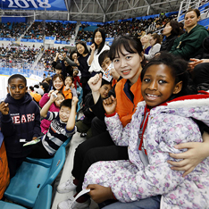 한화그룹, 다문화가정 아이들과 패럴림픽 관람