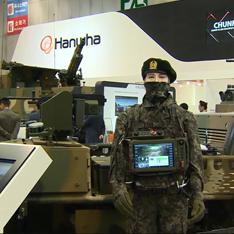 ㈜한화/방산, 한화디펜스 - 국내 최대 지상무기 전시회 'DX KOREA' 참가