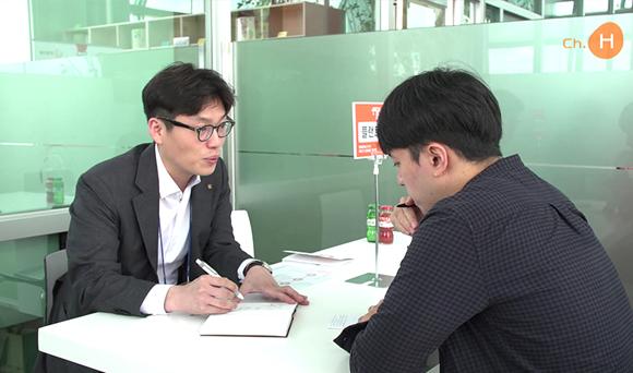한화건설 - 2018년 하반기 신입채용 '잡카페' 운영