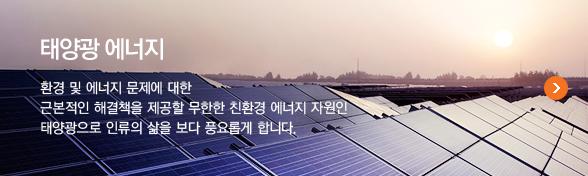 신성장사업 태양광 에너지