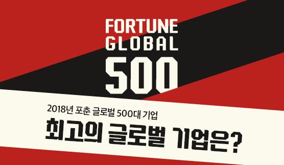 2018 FORTUNE Global 500 최고의 글로벌 기업은?